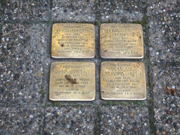Stolpersteine Tilburg